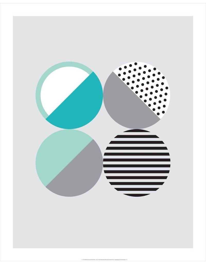 Vivid Print Bee Waeland | Randi Scandi 2 Teal Mint