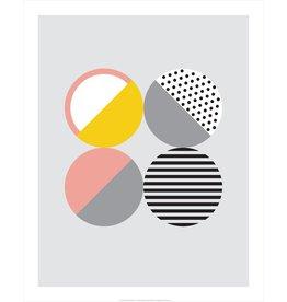 Vivid Print Bee Waeland   Randi Scandi 2 Pink Yellow