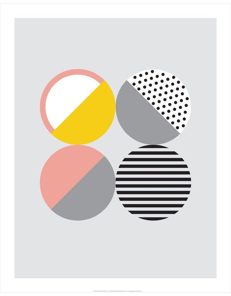 Vivid Print Bee Waeland | Randi Scandi 2 Pink Yellow