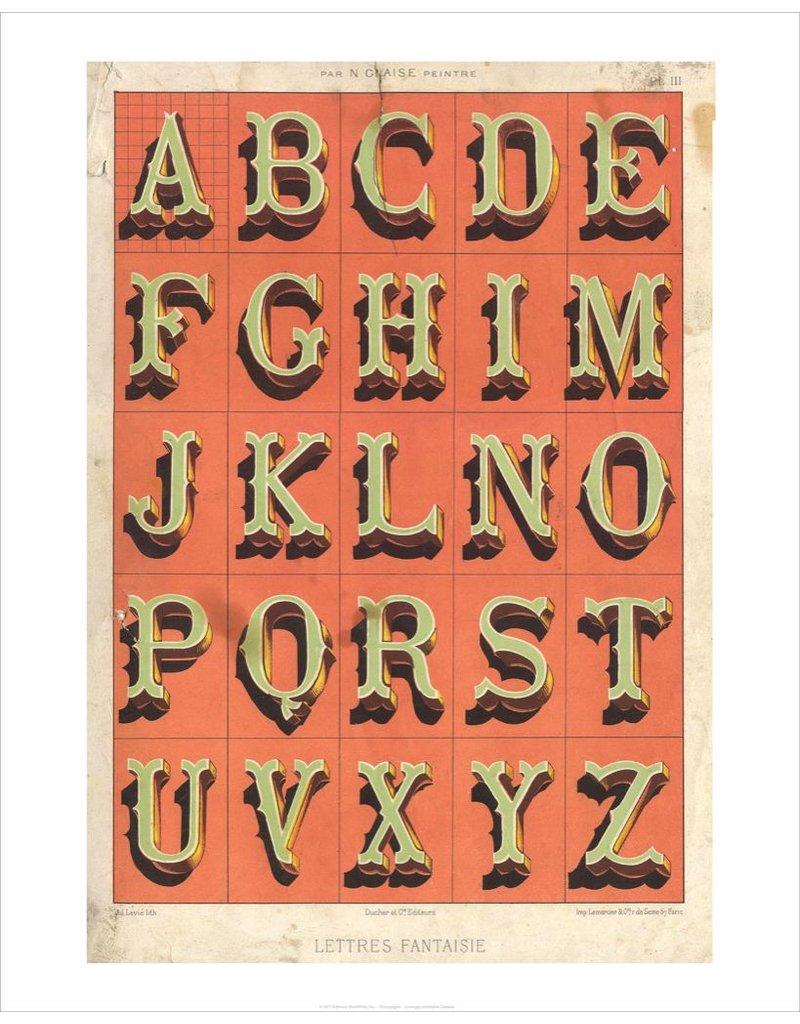 Vivid Print Letters