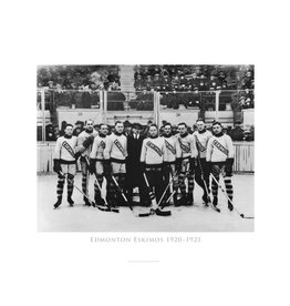 Vivid Archives Edmonton Eskimos Hockey Team 1920-1921 Metal Framed Print