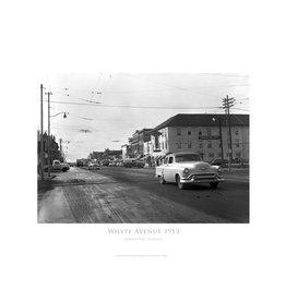 Vivid Archives Whyte Avenue 1953 Metal Framed Print