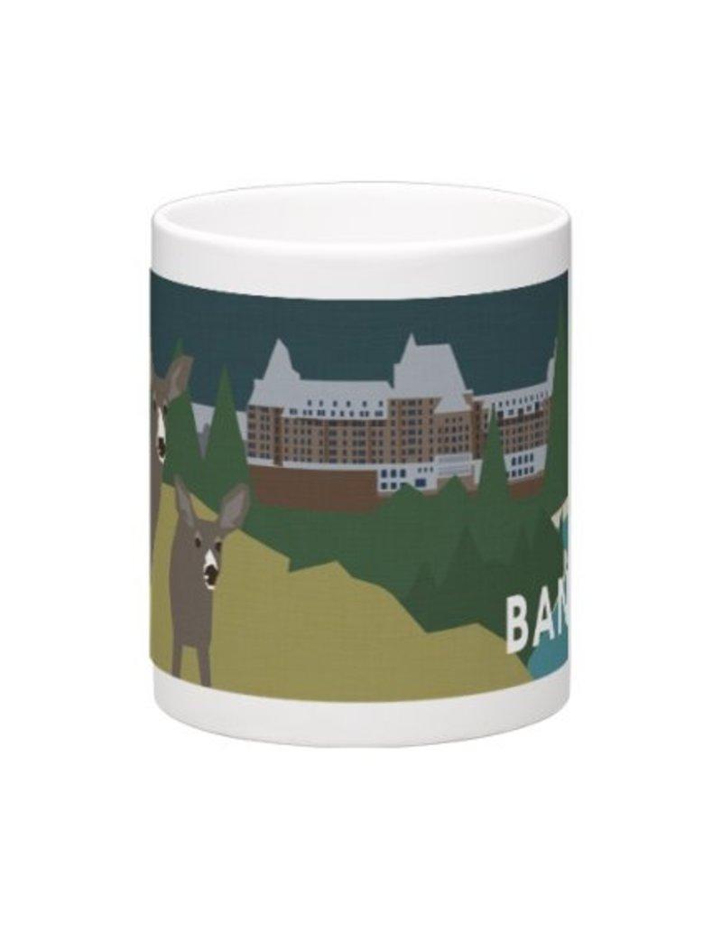 Vivid Print Bee Waeland | BSH Mug