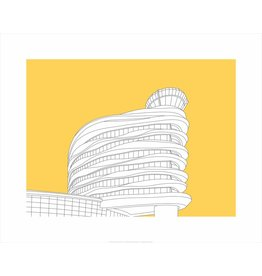 Vivid Print Bee Waeland | EIA Tower