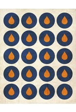 Vivid Print Bee Waeland | A Crush Of Orange