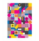 Vivid Print Bee Waeland | Allsorts Framed Print