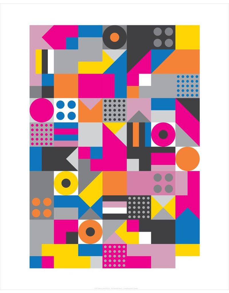 Vivid Print Bee Waeland   Allsorts