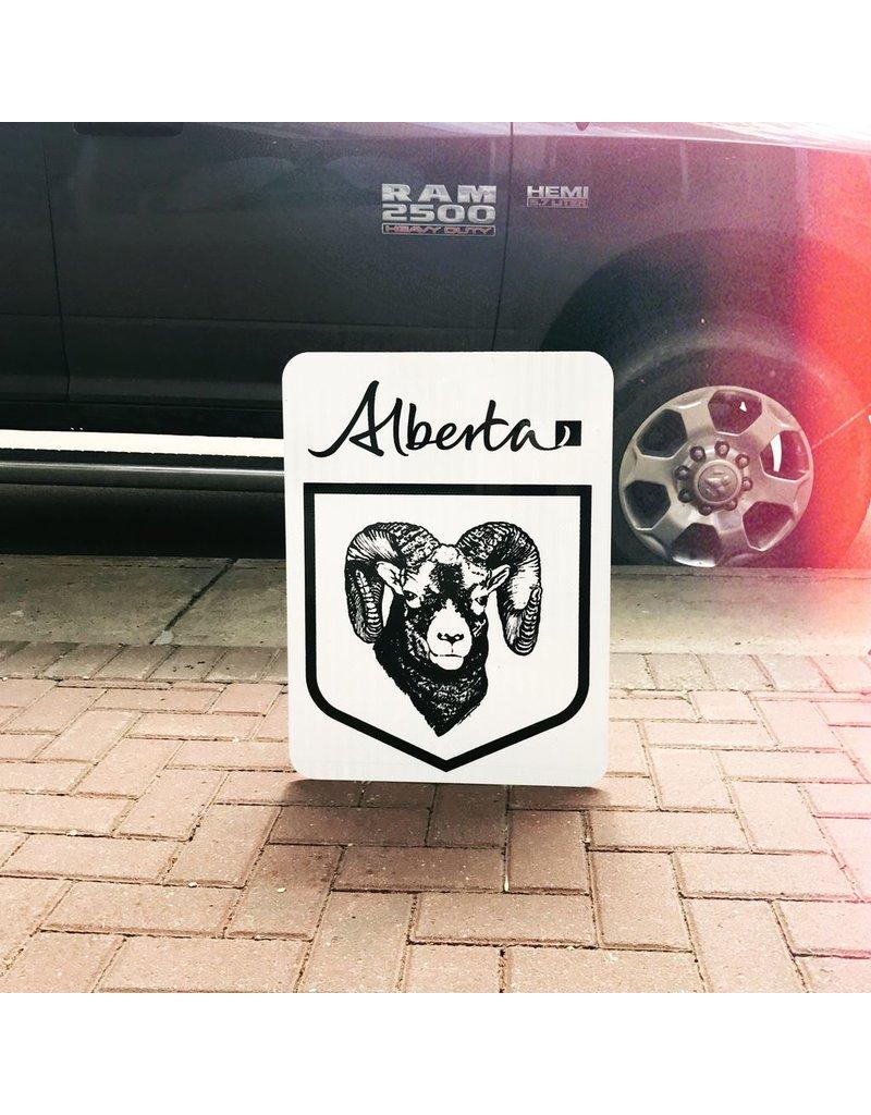 Bighorn Highway Sign