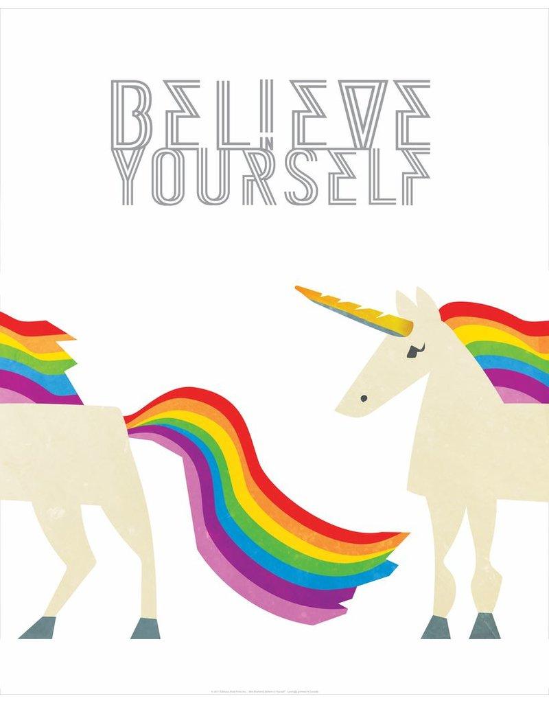 Vivid Print Bee Waeland | Believe In Yourself