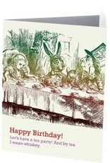 Vivid Print Tea Party