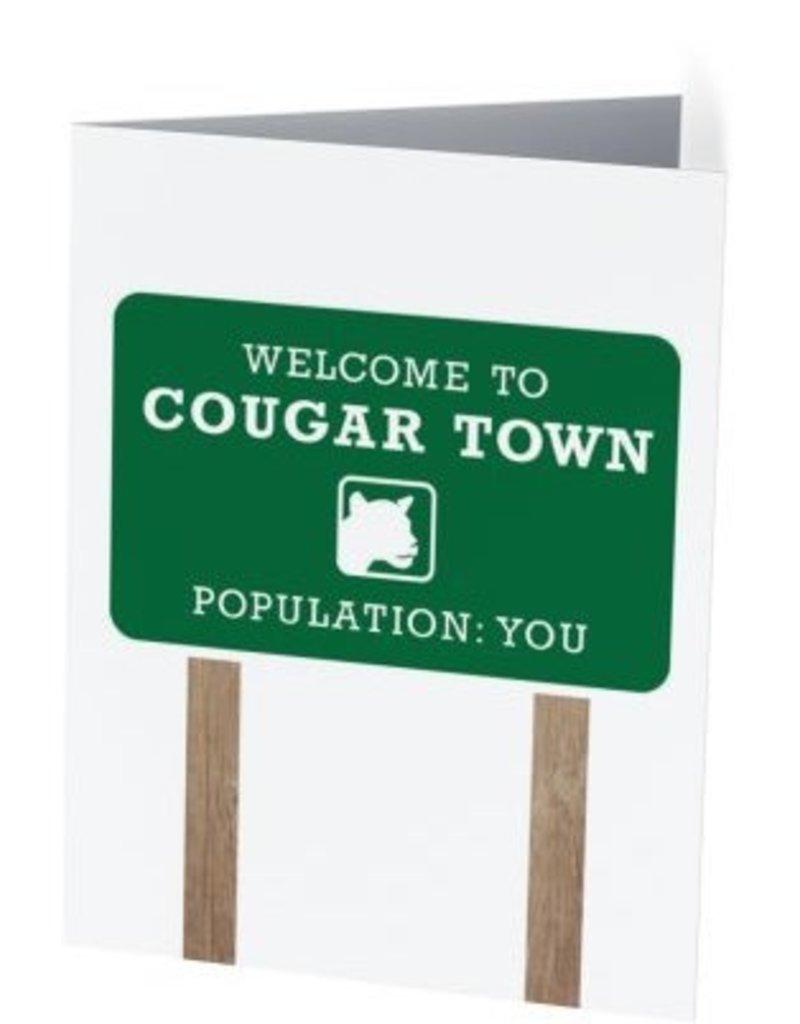 Vivid Print Cougartown