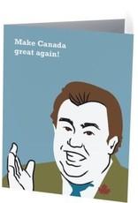 Vivid Print Make Canada Great Again