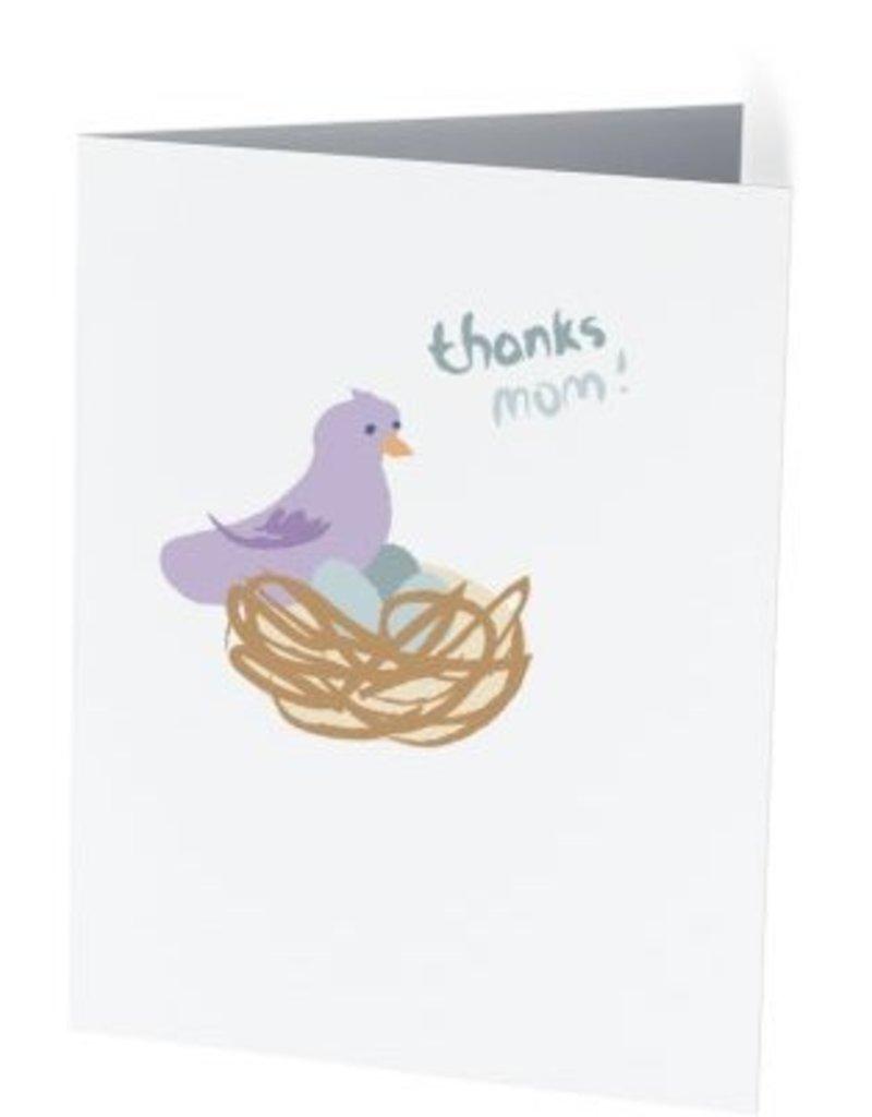Vivid Print Thanks Mom