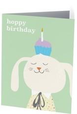Vivid Print Hoppy Birthday Rabbit