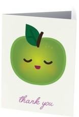 Vivid Print Apple Thank You