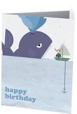 Vivid Print Whale Birthday