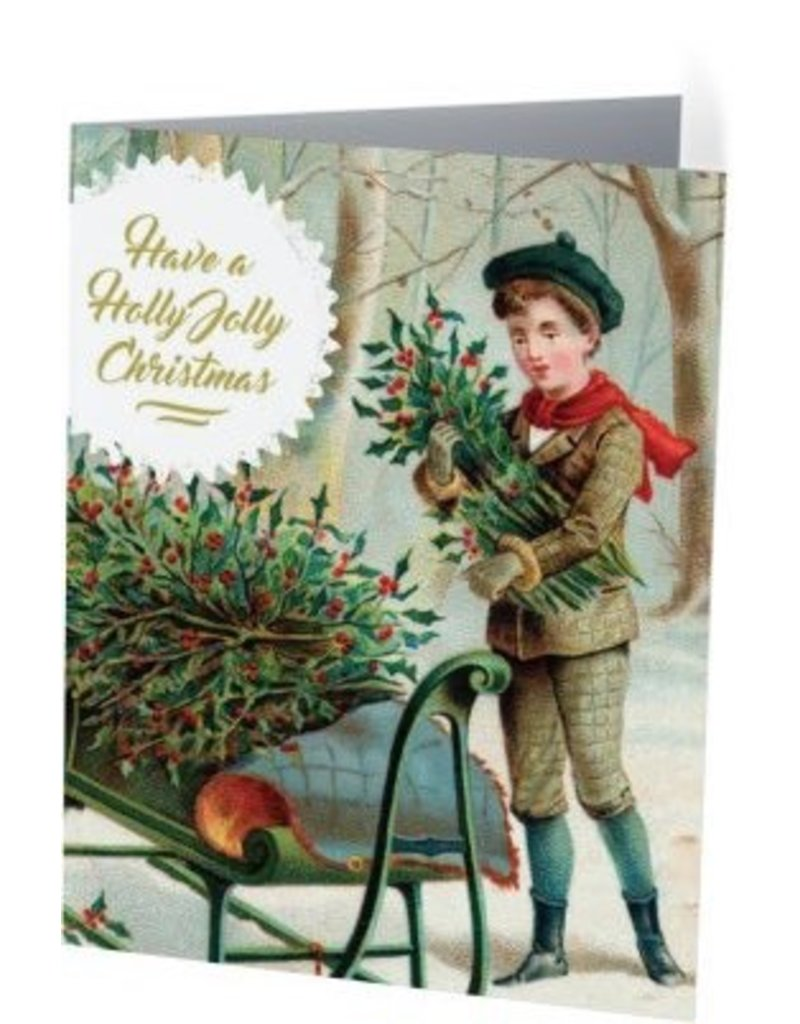 Vivid Print Holly Jolly Boy