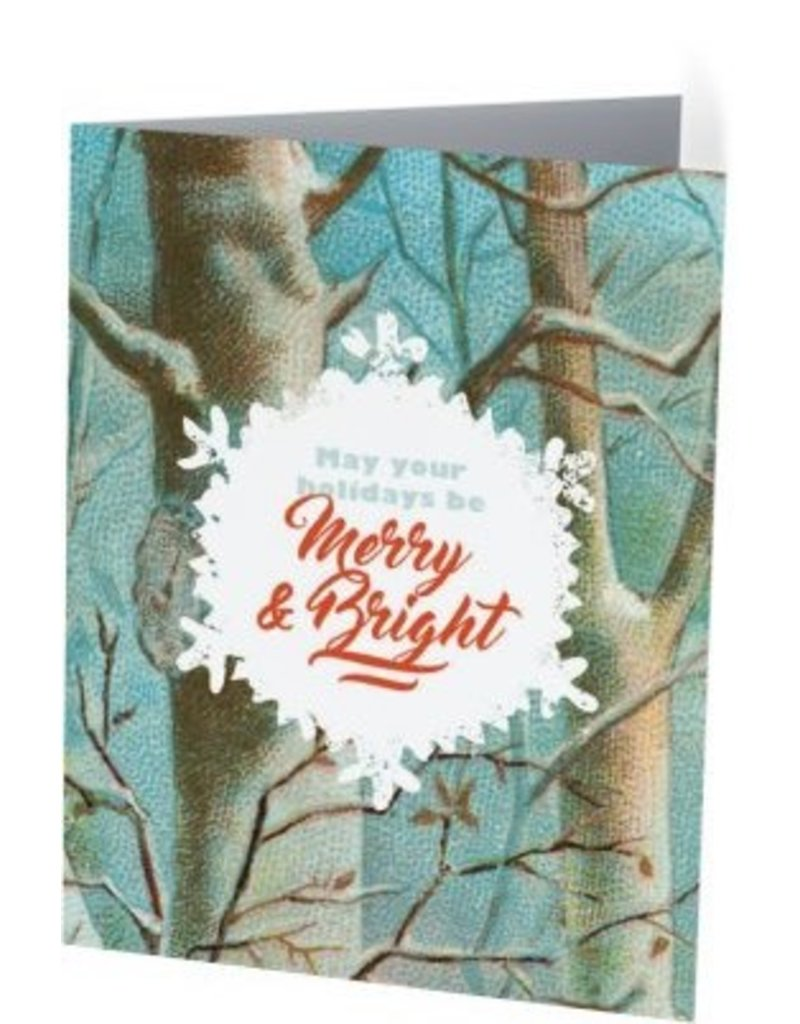 Vivid Print Merry and Bright