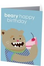Vivid Print Beary Birthday
