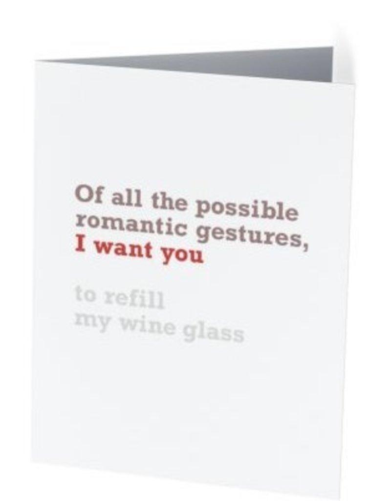 Vivid Print I Want You