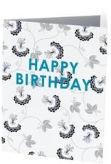 Vivid Print Happy Birthday