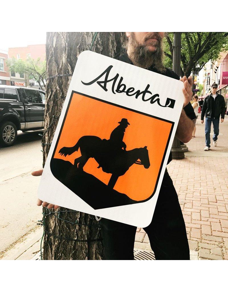 Cowboy Trail Sign