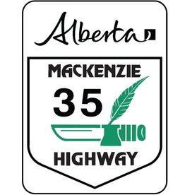 Mackenzie Highway Sign
