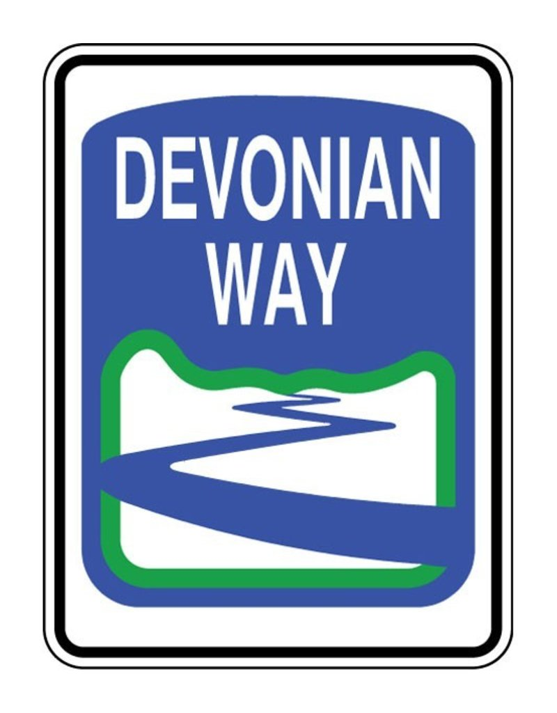 Devonian Way Sign