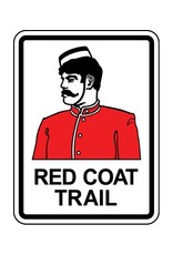 Red Coat Trail Sign