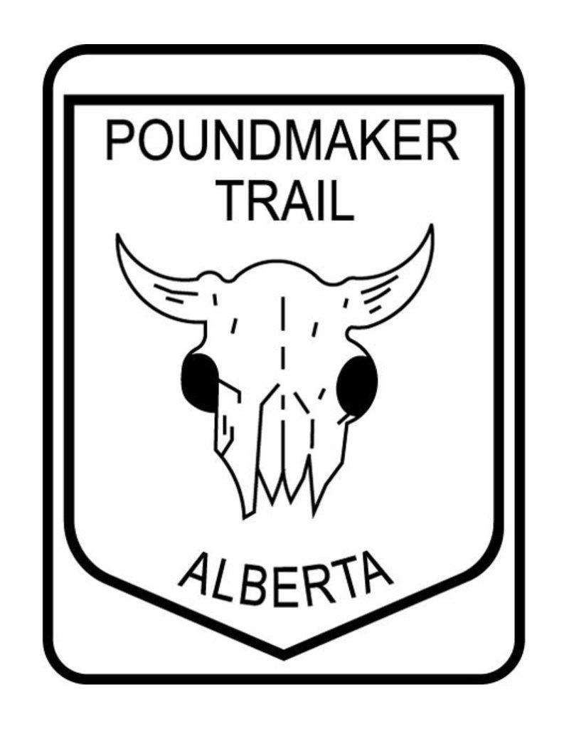 Poundmaker Trail Sign