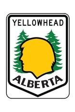 Yellowhead Highway Sign