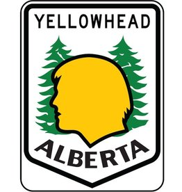 Yellowhead Highway Sign