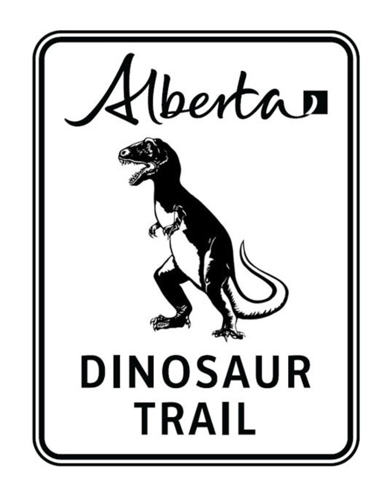 Dinosaur Trail Sign