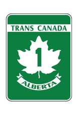 Trans-Canada Highway 1 Sign