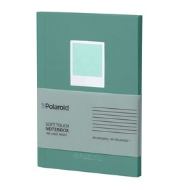 Wild & Wolfe Polaroid Soft Touch Small Notebook Turquoise