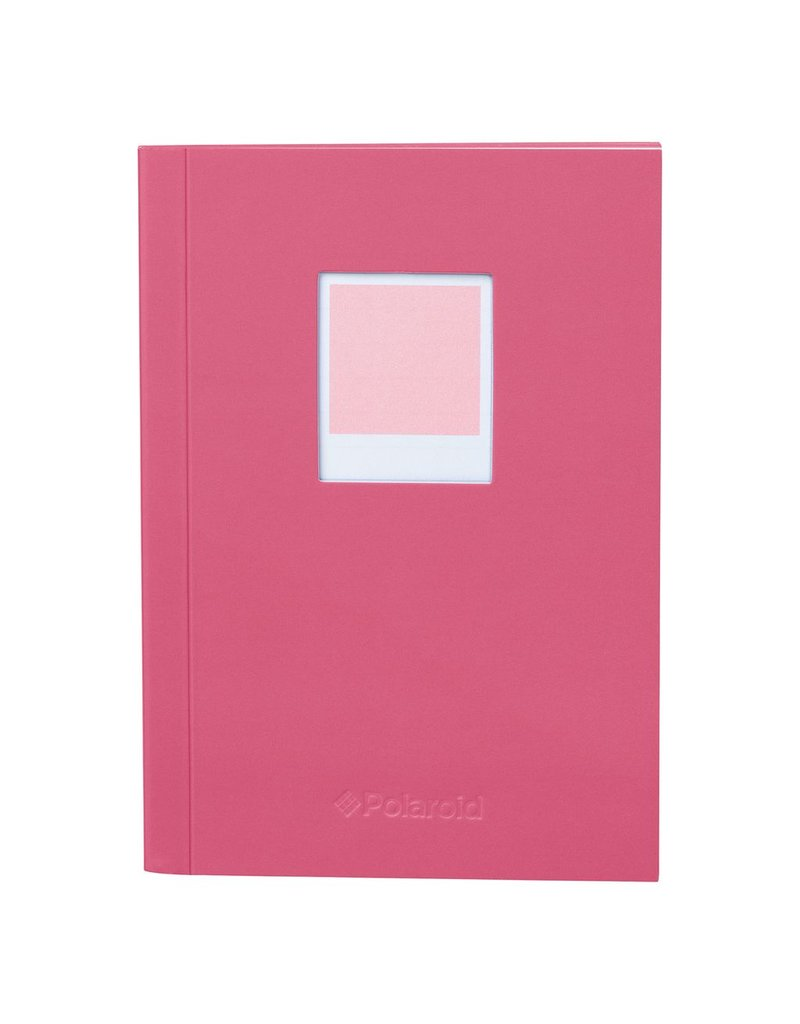 Wild & Wolfe Polaroid Soft Touch Small Notebook Pink