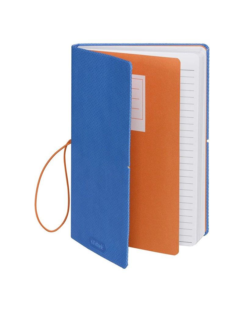 Wild & Wolfe Polaroid Flexi-Cover Medium Journal - Blue