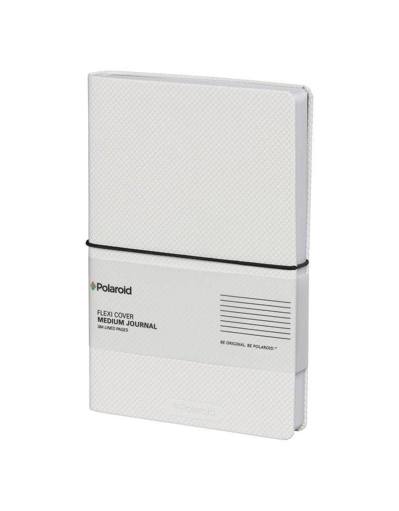 Wild & Wolfe Polaroid Flexi-Cover Medium Journal - White
