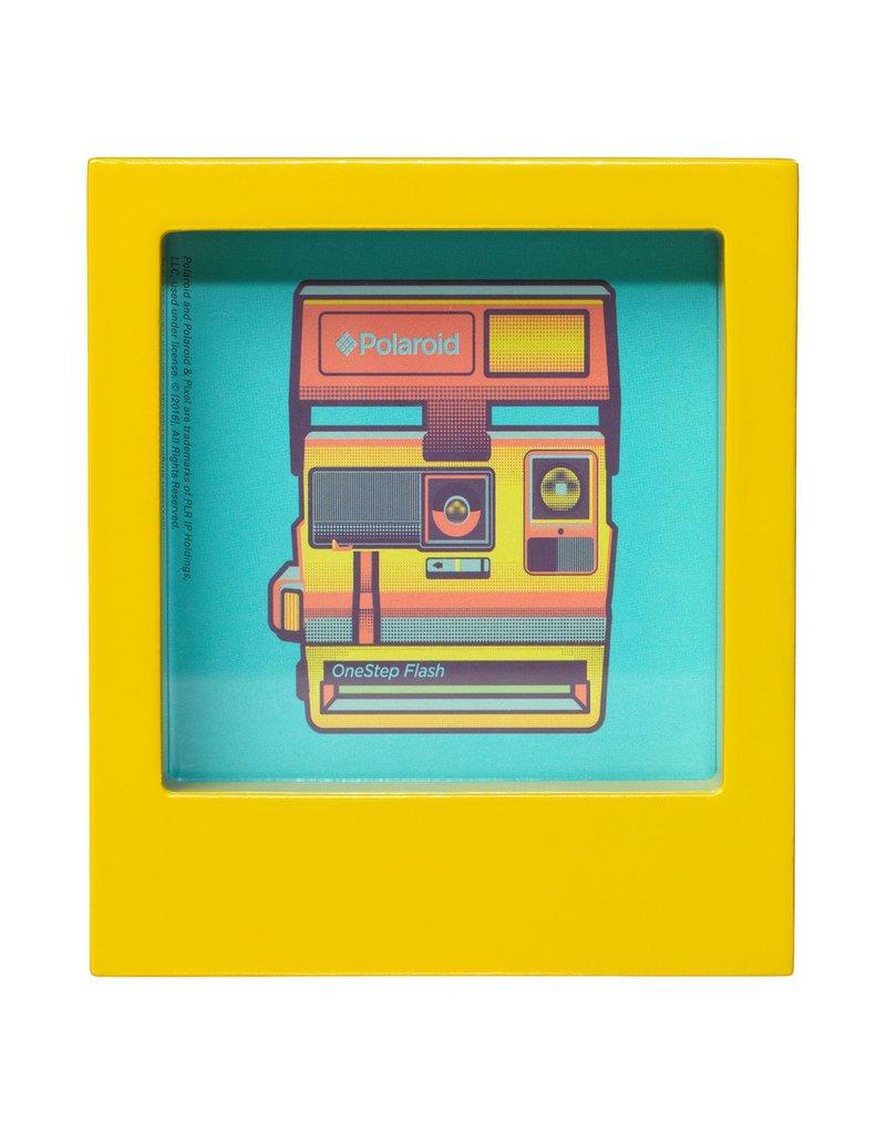Wild & Wolfe Polaroid Desk Frame 4X4 - Yellow