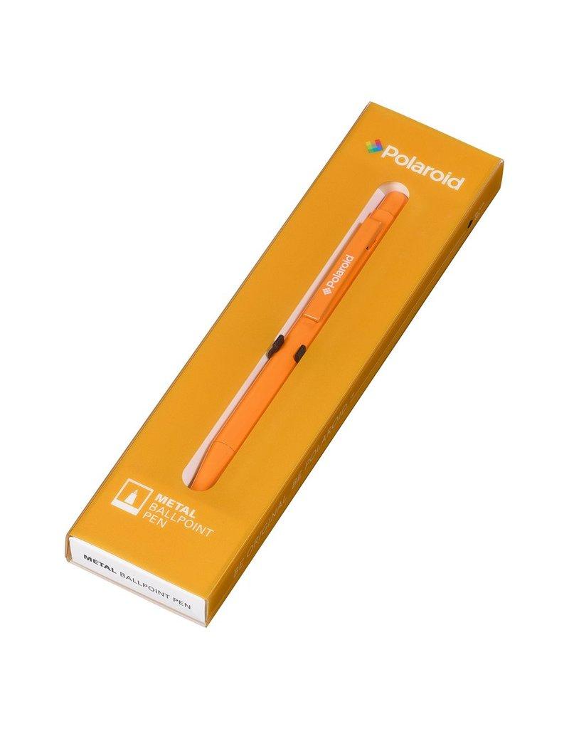 Wild & Wolfe Polaroid Metal Ballpoint Pen - Orange