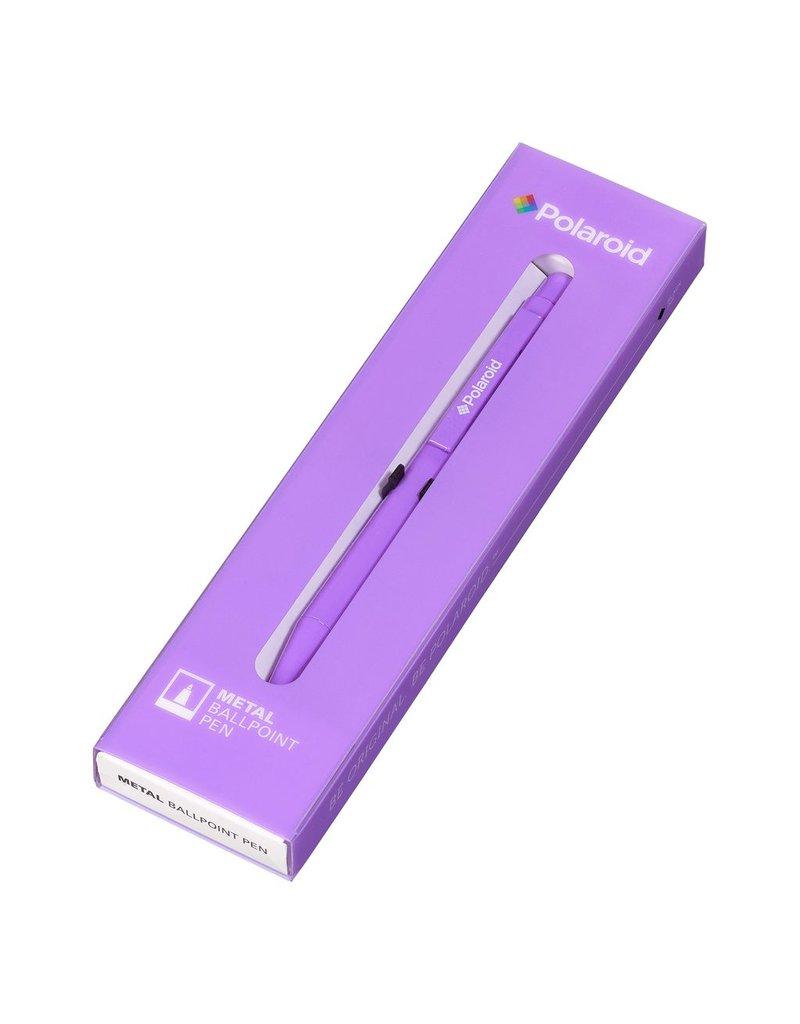 Wild & Wolfe Polaroid Metal Ballpoint Pen - Purple