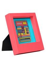 Wild & Wolfe Polaroid Desk Frame 4X4 - Pink