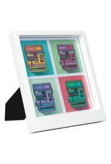 Wild & Wolfe Polaroid Desk & Wall Photo Frame Small 4 Photos White
