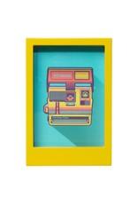 Wild & Wolfe Polaroid Desk Frame 5X7 - Yellow