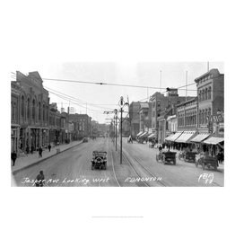 Vivid Archives Jasper Avenue Looking West 1913
