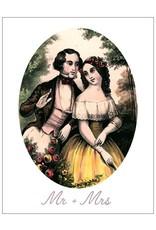 Vivid Print Mr and Mrs