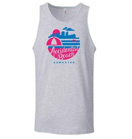 Vivid Print Accidental Beach Tank Men's