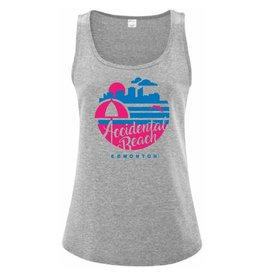 Vivid Print Accidental Beach Tank Women's
