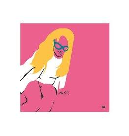 Vivid Print Bee Waeland | Britney Oops
