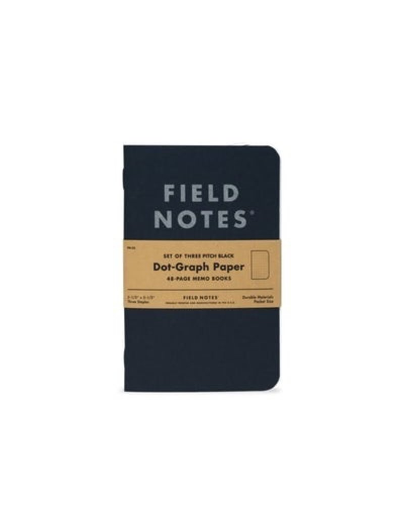 Field Notes Pitch Black Ruled Small